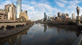 Mroźny Melbourne obraz stock