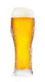 Mroźny szkło piwo zdjęcie stock