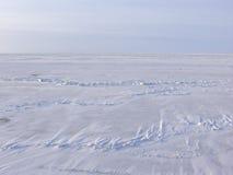 mrożone morza Zdjęcie Stock