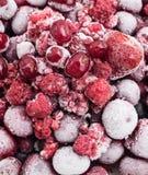 mrożone owoce Zdjęcia Royalty Free