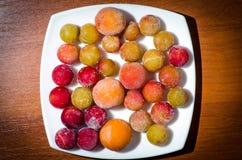 mrożone owoce fotografia stock