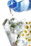mrożonej wody Obrazy Royalty Free