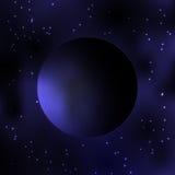mroczna planeta galaxy Milky sposobu gwiazdy Gwiazdy galówka i planeta Fotografia Stock