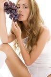mroczne winogron Fotografia Royalty Free