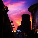 Mroczny niebo Fotografia Stock