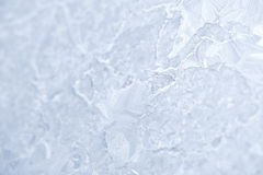 mrozowy szkło deseniuje nadokienną zima tekstury szkła tekstura biały Zdjęcie Royalty Free