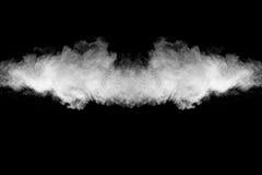 Mrozu ruchu wybuch biały pył Obrazy Stock