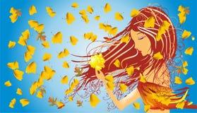 Mrs. autumn Royalty Free Stock Image