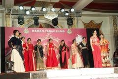 Mrs. Bhiwadi NCR Faishon Show - Raman Yadav Royalty Free Stock Photo