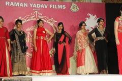 Mrs. Bhiwadi NCR Faishon Show - Raman Yadav Stock Image