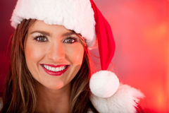 Mrs. Claus at Christmas Royalty Free Stock Photography
