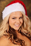 Mrs Claus Pinup Stock Photography