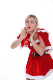 Mrs Claus Stock Photo
