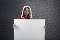 Mrs. Clause Has A Message Royalty Free Stock Image