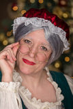 Mrs Clause. Hey look it Mrs Clause, Have you been good this year royalty free stock photography