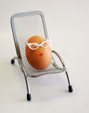 Mrs. egg Royalty Free Stock Image