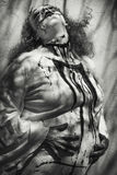 mrs Frankenstein ist schwanger lizenzfreie stockfotos