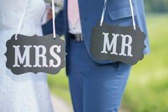 mrs och Mr Arkivbild