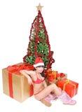 Mrs. Santa Stock Photo