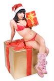 Mrs. Santa Royalty Free Stock Photos
