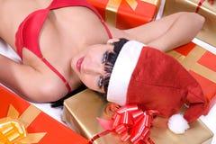 Mrs. Santa Stock Image