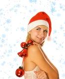 Mrs. Santa Royalty Free Stock Photography