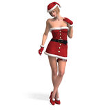 Mrs Santa Stock Photography