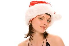mrs santa claus красотки Стоковые Изображения