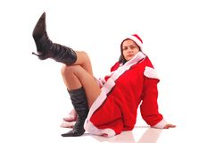 Mrs Santa Claus Royalty Free Stock Photography