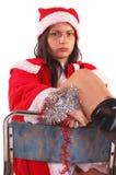 Mrs Santa Claus Royalty Free Stock Photo
