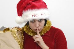 Mrs Santa Claus Royalty Free Stock Image