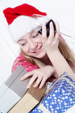 Mrs. Santa Clause Royalty Free Stock Photo