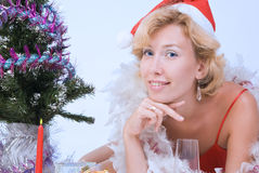 Mrs. Santa Clause Stock Photography