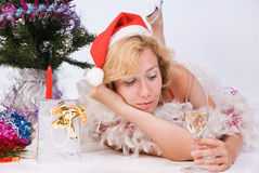 Mrs. Santa Clause Stock Photos