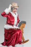 Mrs Santa Clause Royalty Free Stock Photos