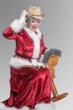 Mrs Santa Clause Royalty Free Stock Photos