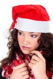 Mrs. Santa coming soon Royalty Free Stock Photos