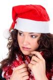 Mrs. Santa coming soon Royalty Free Stock Photos