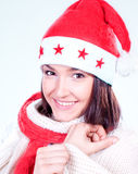 Mrs. Santa coming soon Royalty Free Stock Images