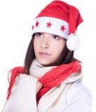 Mrs. Santa coming soon Stock Photography