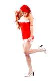 mrs Santa seksowny Zdjęcia Royalty Free