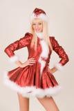 mrs Santa seksowny Zdjęcie Royalty Free