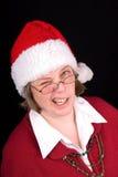 Mrs Weihnachtsmann Lizenzfreie Stockbilder