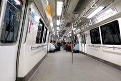 MRT, Сингапур Стоковая Фотография