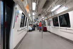 MRT, Сингапур Стоковая Фотография RF