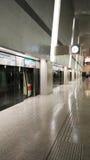 MRT dans l'aéroport de Singapour Changi Photos stock
