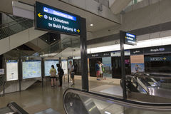 MRT de Singapore Fotografia de Stock Royalty Free