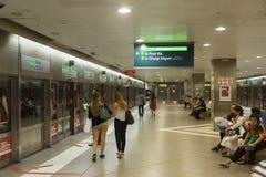 MRT de Singapore Foto de Stock