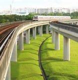 MRT de Singapur Imágenes de archivo libres de regalías