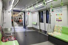 MRT en Singapur Fotos de archivo libres de regalías